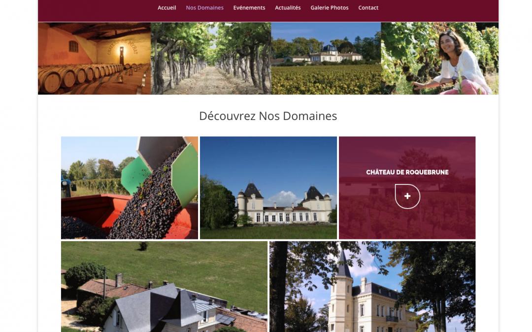Ingénieurs Vignerons Aquitains – mini-portail web