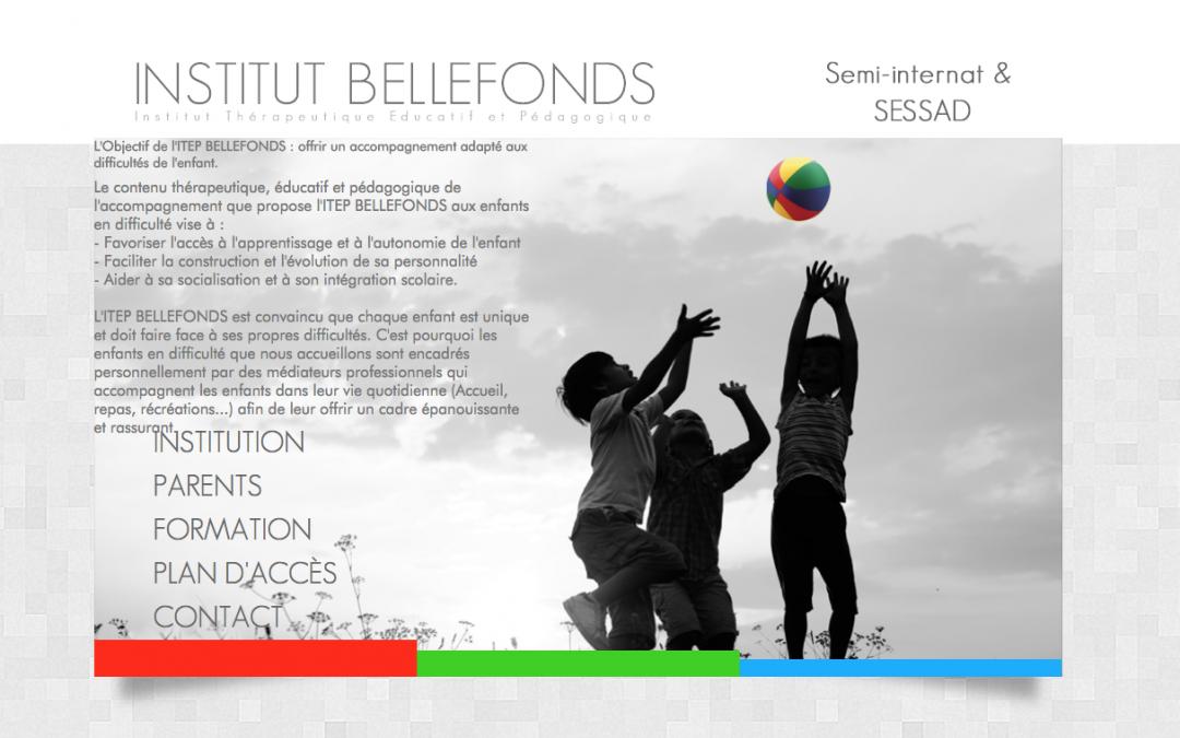 ITEP BELLEFONDS – Institut Aquitain – Site Vitrine