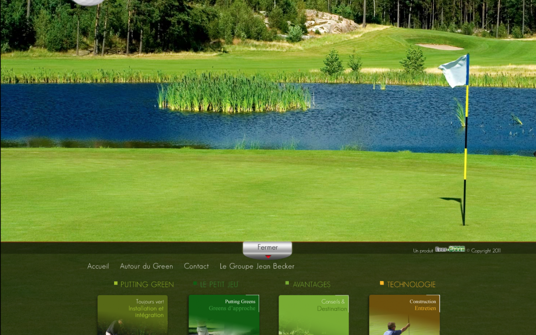 PUTTING GREENS – Golfs artificiels sur mesure – Site vitrine